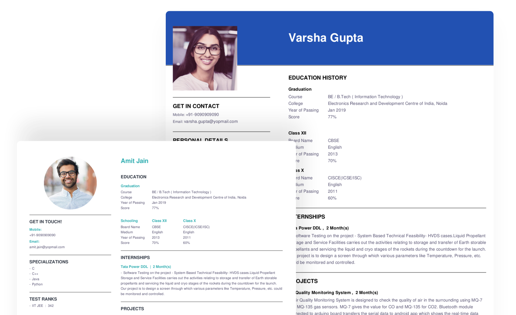 free online resume makers